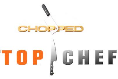 Chopped Food Network cross realm warfare on the tv | castles & cooks