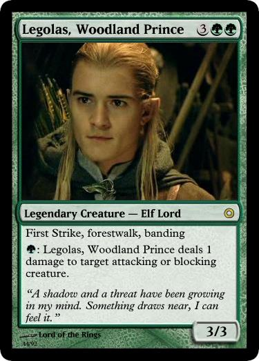 deckmaster theory  lord of the rings