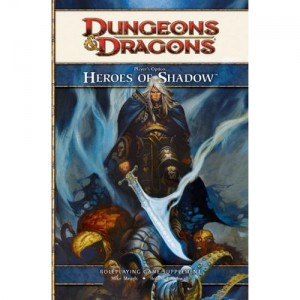 Heroes of Shadow Cover by Christopher Moeller