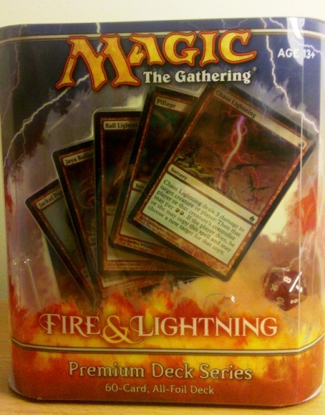 magic the gathering review premium deck series fire and lightning