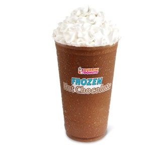 Frozen Hot Chocolate Dunkin Donuts Nutrition