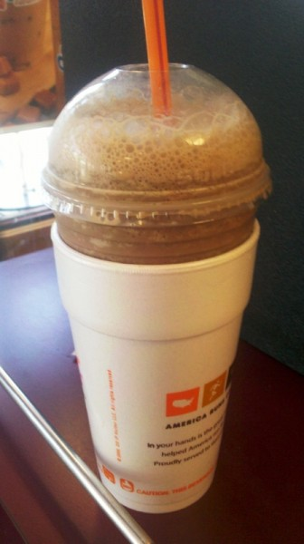 Frozen Hot Chocolate Price Dunkin Donuts
