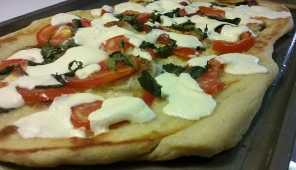 Baker's Recipe: Tomato & Basil Pizza | Castles & Cooks