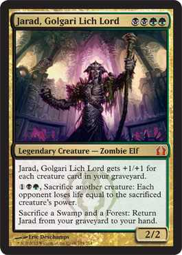 Return to Ravnica Casual & Commander Review: Golgari Swarm ... Planeswalker Activated Ability