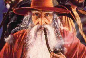 How does Elminster cast his spells? Any way he f*ing wants!