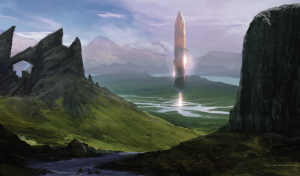 Numenera - Lands - Obelisk of the Water God