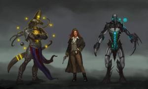 The Strange - Characters